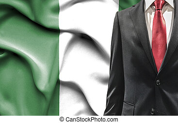 Man in suit from Nigeria