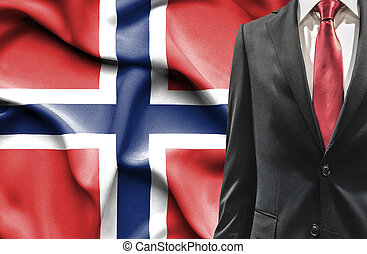 Man in suit from Norway