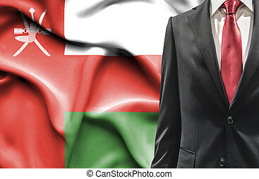 Man in suit from Oman