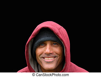Man in the Red Hoodie