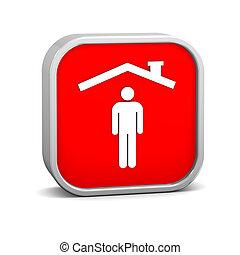 Man insurance sign