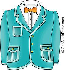 Man Jacket - Scalable vectorial image representing a man...