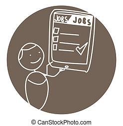 man job vector