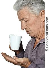 man, kop, bejaarden