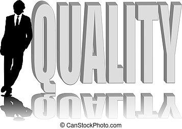 man lean quality