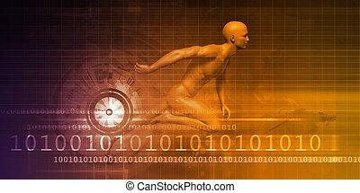 Man Machine Equilibrium as a Science Technology Concept