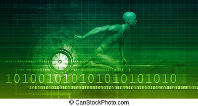 Man Machine Equilibrium