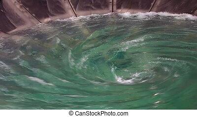 Man-made huge whirlpool - Video 1920x1080 - Man-made huge...