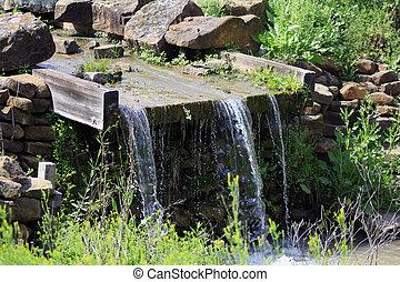Man Made Waterfall