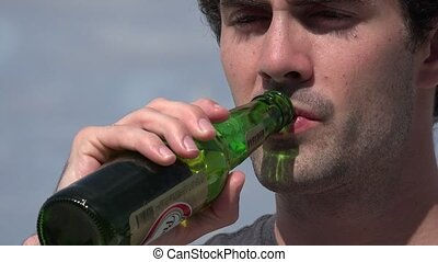 Man, Male, Beer, Alcohol