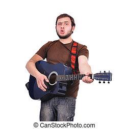 man musician