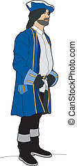 Man of the 17th century