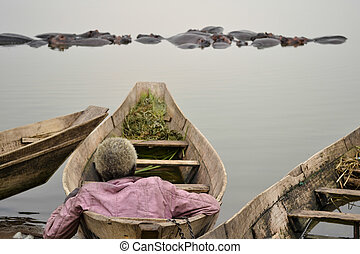 man on the boat