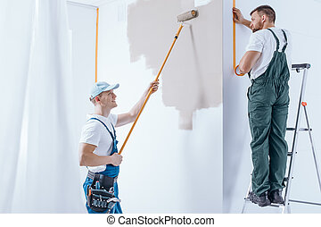 Home renovation crew