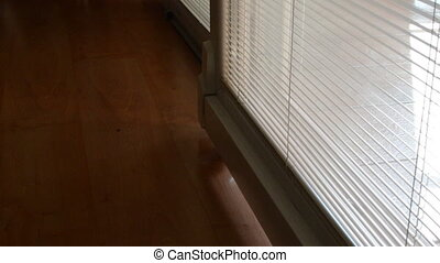 man open the door in a house