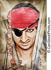 Man pirate