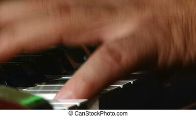 Man play piano