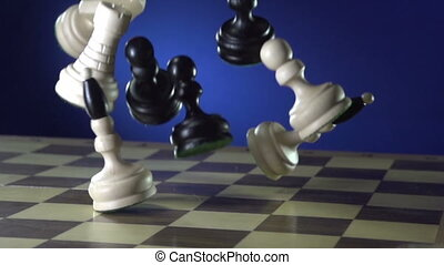 Man playing a game of chess