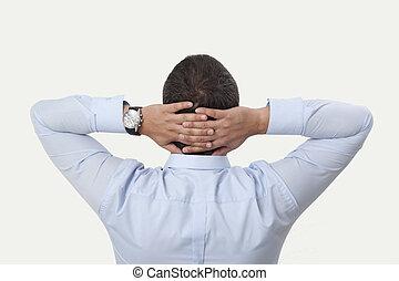 Hands Behind Head