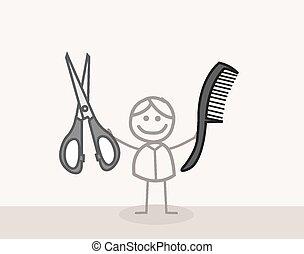 Man Scissors Barbershop