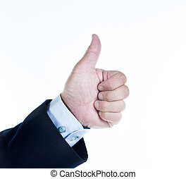 hand gesture - Man showing hand gesture