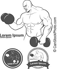 man sport power gym
