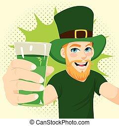 Man St Patrick Day