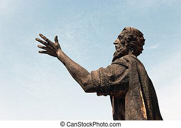man statue - Creative design of man statue