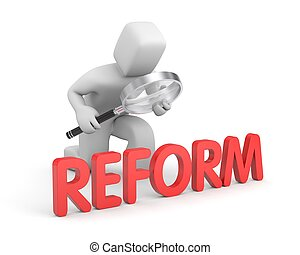 Man studies reform