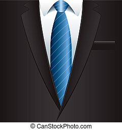 Man suit background vector illustration