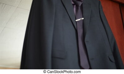 man suit in the room