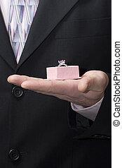 man suit ring