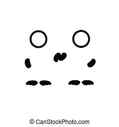 man symbol black vector