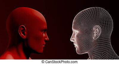 Man vs Machine Competing in the Future