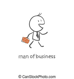 man with a briefcase