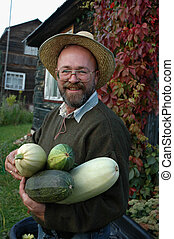 Man with a marrows