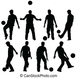 Man with ball