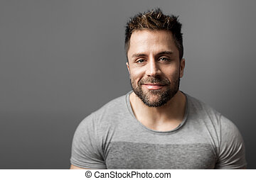 man with beard - An image of a man with a beard