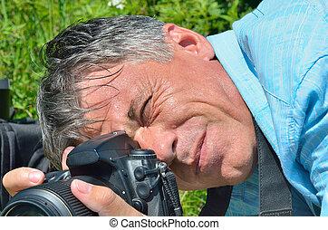 Man with camera