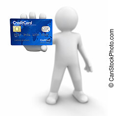 Man with Credit Card