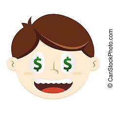 Man With Dollar Eyes