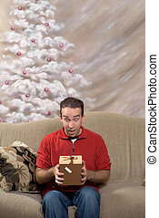 Man With Present