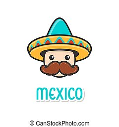 Man with sombrero and large moustache