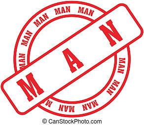 man word stamp3