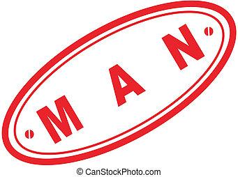 man word stamp7