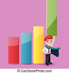 Man Worker Strong Power Graph Vector