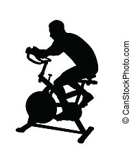 man working out fitness