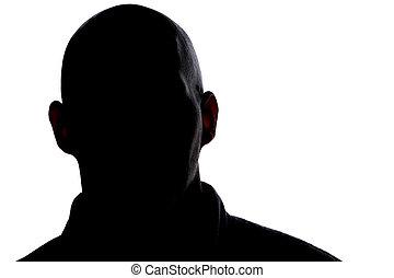 man1, тень