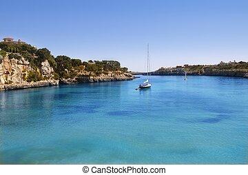 Porto Cristo Mallorca beach Balearic islands - Manacor Porto...