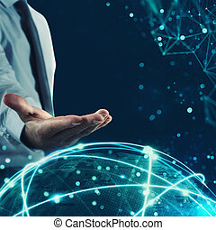 Manage global internet communication